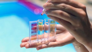 Healthy swimming: A matter of chemistry